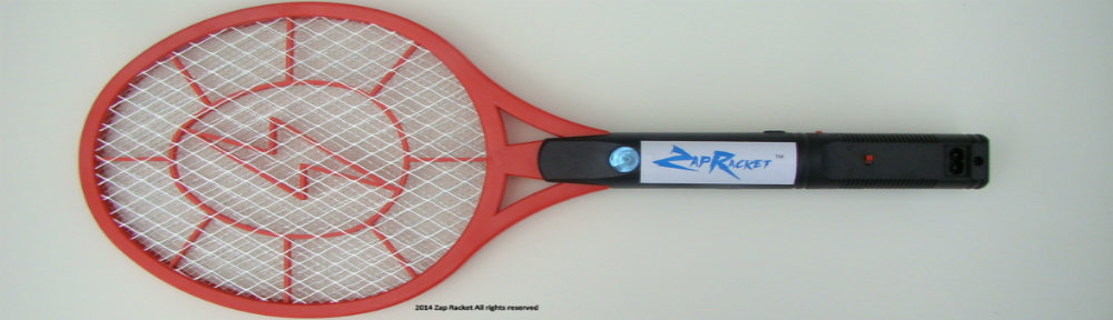 Lightweight Rechargeable Bug Zapper with Detachable Power Cord